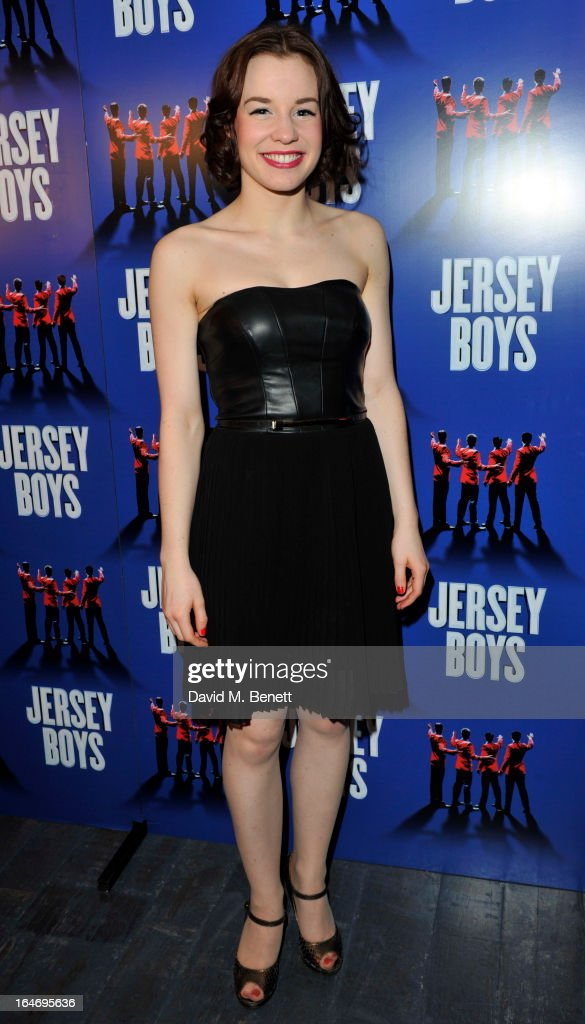 Rebecca Jane Davies attends the Jersey Boys 5th anniversary performance after party at the Paramount Club on March 26, 2013 in London, England.