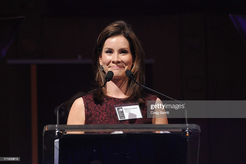Rebecca Jarvis speaks onstage at the 2013 Gerald Loeb Awards on June 25, 2013 in New York City.
