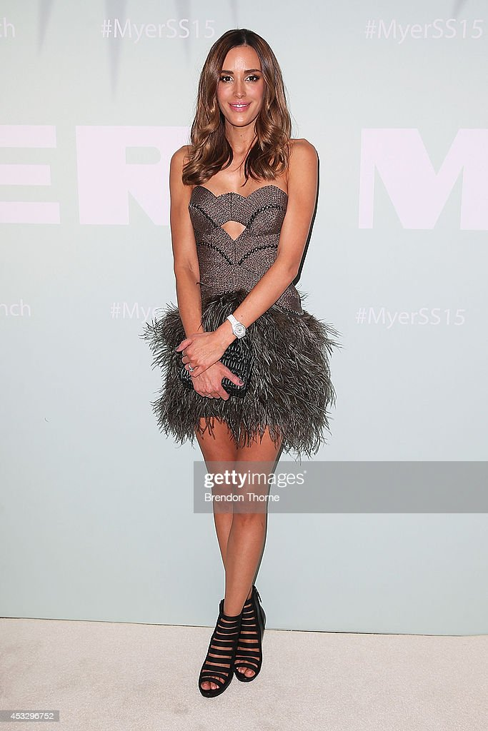<a gi-track='captionPersonalityLinkClicked' href=/galleries/search?phrase=Rebecca+Judd&family=editorial&specificpeople=7446336 ng-click='$event.stopPropagation()'>Rebecca Judd</a> arrives at the Myer Spring Summer 2014 Fashion Launch at Carriageworks on August 7, 2014 in Sydney, Australia.