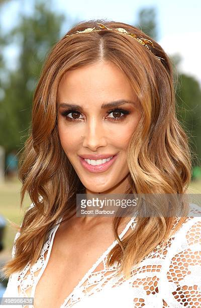 Rebecca Judd attends Land Rover Polo In The City on November 28 2015 in Melbourne Australia