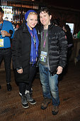Rebecca Katz and Johnathan Duffy attend the Alfred P Sloan Foundation Reception and Prize Announcement during the 2016 Sundance Film Festival at High...