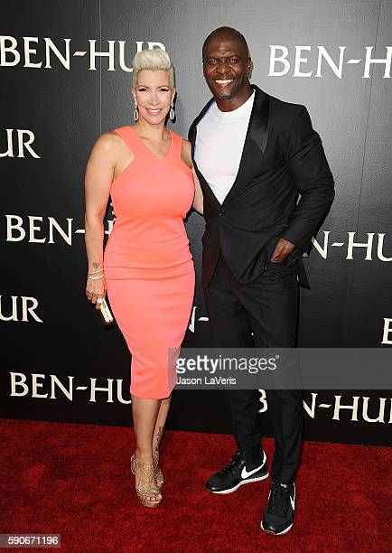 Rebecca KingCrews and Terry Crews attend the premiere of 'BenHur' at TCL Chinese Theatre IMAX on August 16 2016 in Hollywood California