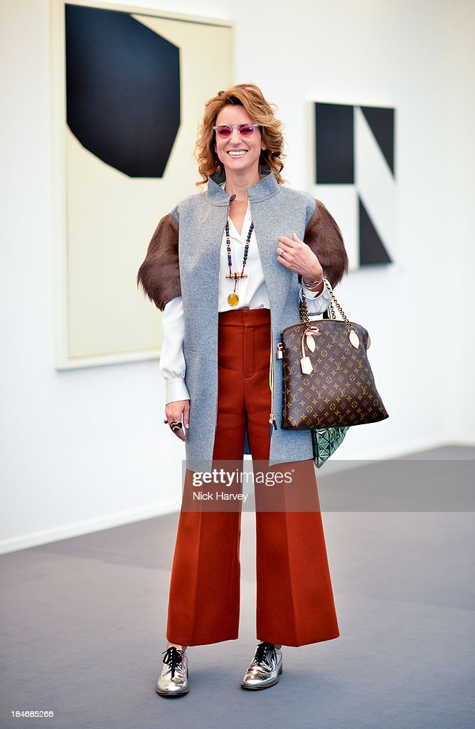 Rebecca Korner attends the private view for Frieze Masters on October 15, 2013 in London, England.