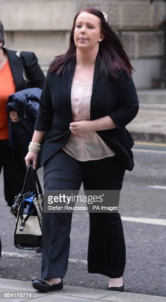 Rebecca Leighton arrives at the Nursing Midwifery Council in London today The nurse cleared over the poisoning deaths of patients at Stepping Hill...