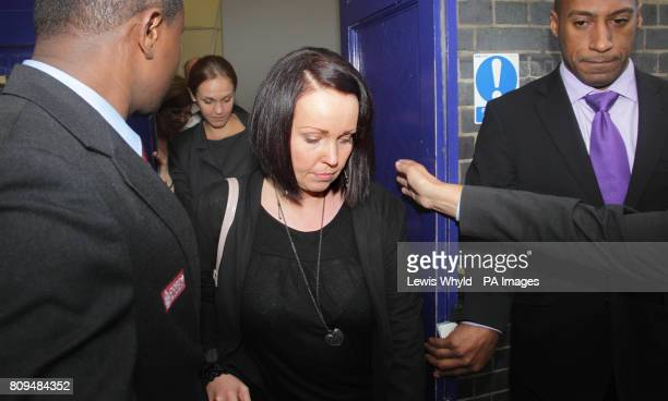Rebecca Leighton leaves the Nursing and Midwifery Council in London after the regulatory body ruled that she can return to nursing