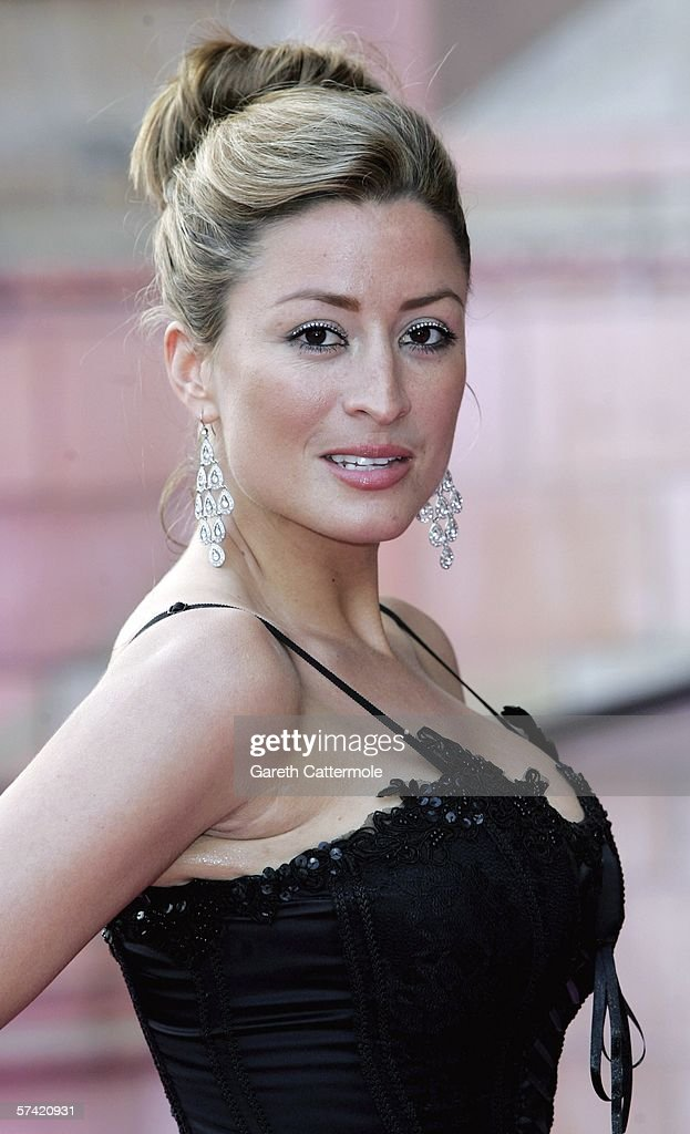 Rebecca Loos attends The Blush Ball, raising funds for the construction of a third Breast Cancer Haven in North England, at the Natural History Museum on April 25, 2006 in London, England.