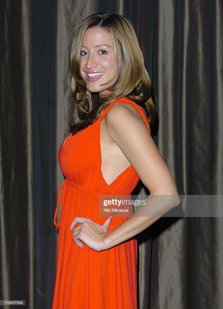 Rebecca Loos during Rebecca Loos Hosts 2006 Pre-Marathon Fundraising ...