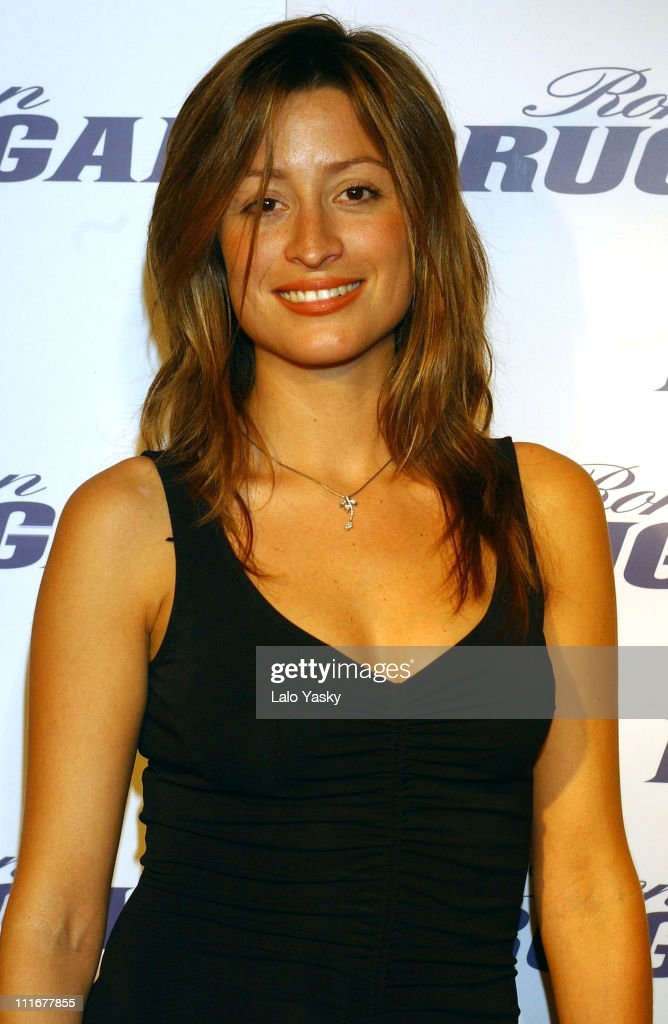Rebecca Loos during Ron Brugal Salsa Dance Contest at Riviera Club in ...