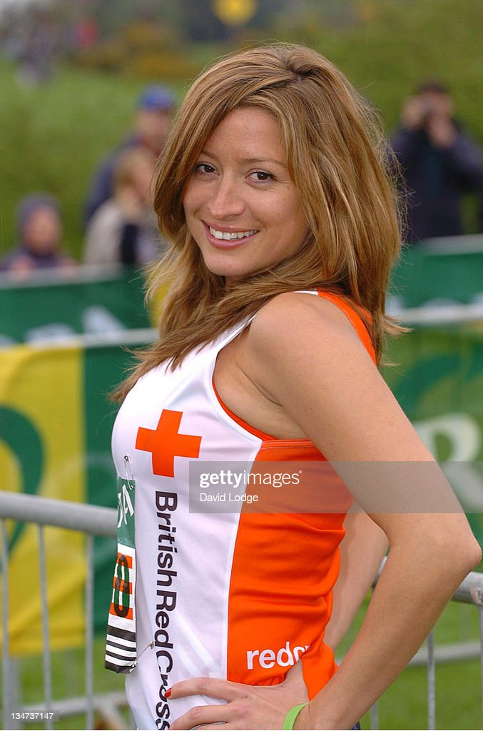 Rebecca Loos during The 2006 Flora London Marathon in London, Great ...