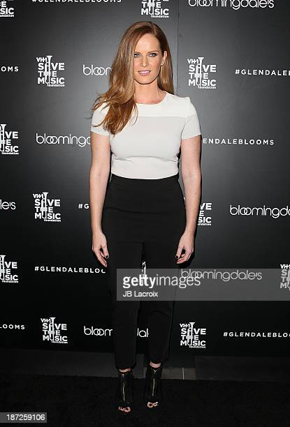 Rebecca Mader attends Bloomingdale's Glendale Hosts Opening Gala Celebration With VH1 Save The Music Foundation at Bloomingdale's Glendale on...