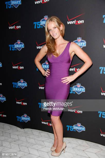Rebecca Mader attends NFL and VERIZON Celebrate Draft Eve at Abe and Arthur's on April 21 2010 in New York City