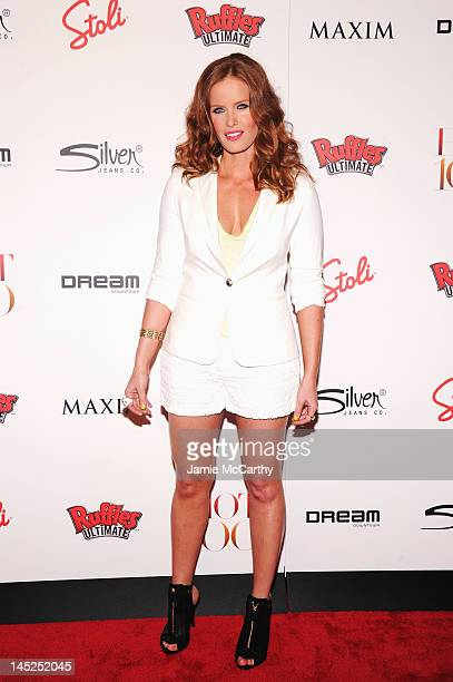 Rebecca Mader attends the Maxim Hot 100 on May 24 2012 in New York City
