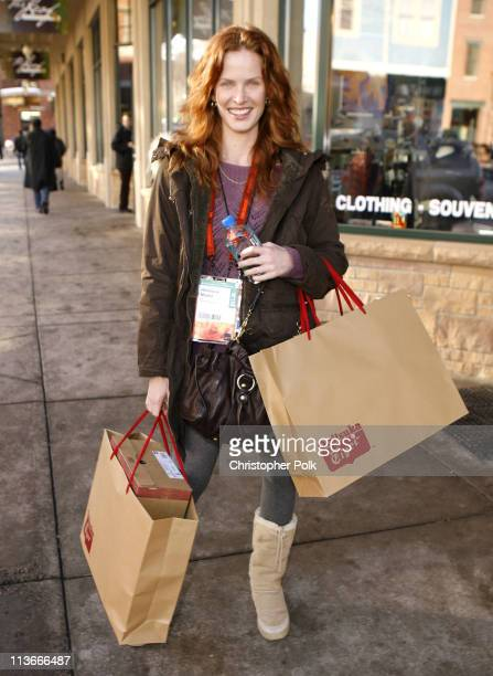 Rebecca Mader during 2007 Park City Seen Around Town Day 5 at Streets of Park City in Park City Utah United States