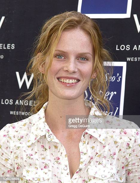 Rebecca Mader during 2nd Annual Danny Seo's SuperNatural Super Suite at The W Hotel in Westwood California United States