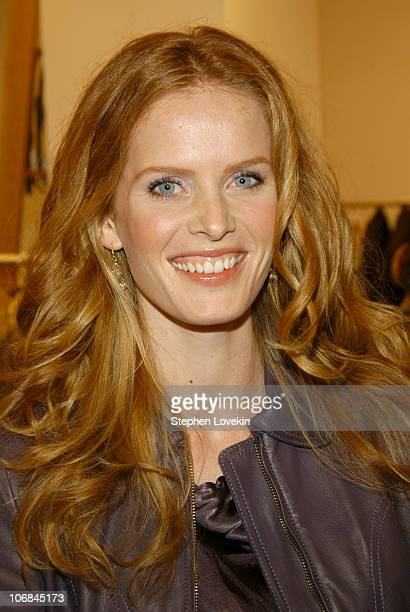 Rebecca Mader during Donna Karan and Yehuda Berg Celebrate 'The Red String Book The Power of Protection' at DKNY Soho in New York City New York...