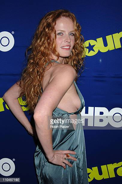 Rebecca Mader during 'Entourage' Season Three New York Premiere Arrivals at Skirball Center for the Performing Arts at NYU in New York City New York...