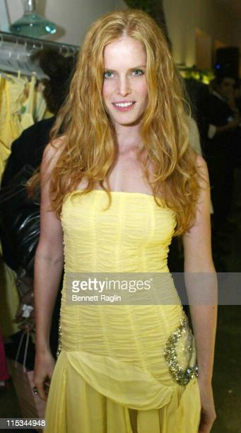 Rebecca Mader during Ghost Spring/Summer 2006 Launch at Ghost in New York New York United States