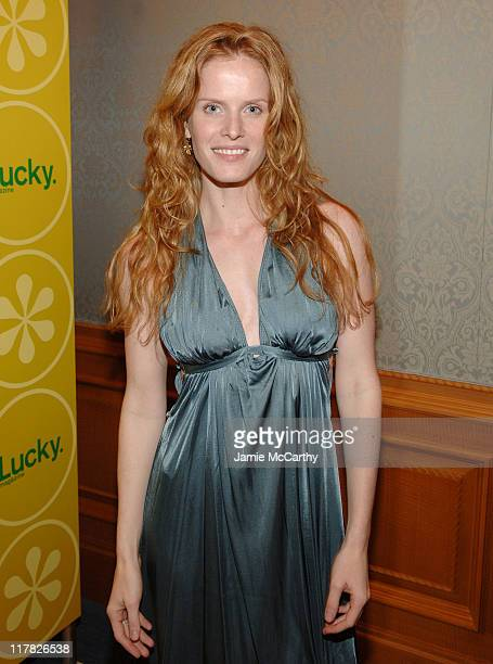 Rebecca Mader during The Lucky Magazine Club 2006 Day 1 at The Ritz Carlton Central Park South in New York City New York United States