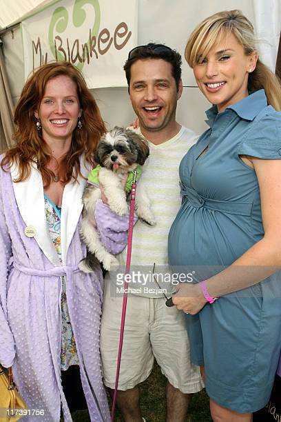 Rebecca Mader during The Silver Spoon Hosts 4th Annual Dog and Baby Buffet Day One at Wattles Mansion in Hollywood California United States Photo by...