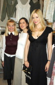 Rebecca Matthias store founder Anne Getty and Mira Sorvino