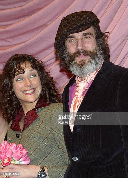 Rebecca Miller and Daniel DayLewis during 55th Berlin International Film Festival Berlinale Camera Award at Zoo Palace in Berlin Germany
