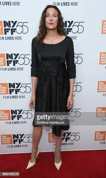 Rebecca Miller attends The 55th New York Film Festival 'Meyerowitz' at Alice Tully Hall on October 1 2017 in New York City