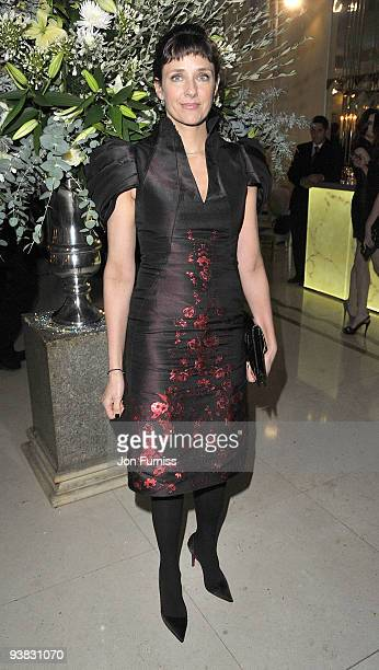 Rebecca Miller attends the ''Nine'' world film premiere after party at Claridges Hotel on December 3 2009 in London England