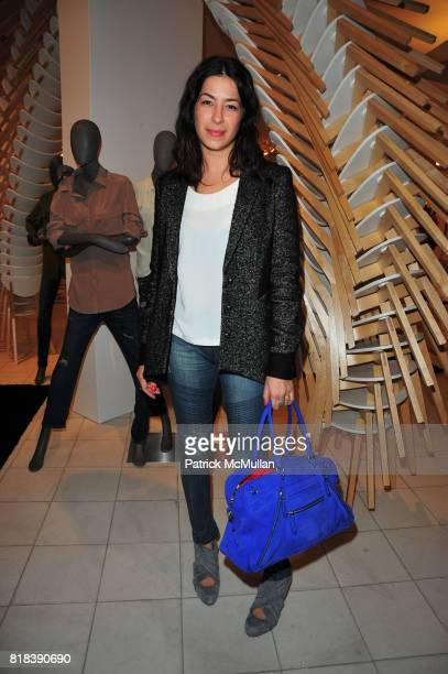 Rebecca Minkoff attends EQUIPMENT Launch Party hosted by BECKA DIAMOND and SERGE AZRIA at Saks Fifth Avenue NYC on February 16 2010 in New York City