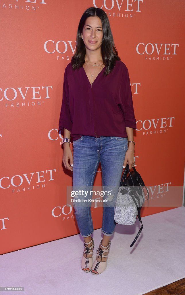 Rebecca Minkoff attends the COVET Fashion Launch Event at 82 Mercer on August 27, 2013 in New York City.