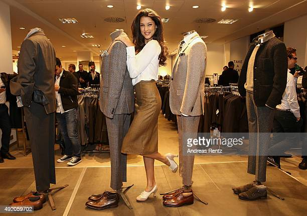 Rebecca Mir attends ANSON'S Fashion Night on October 9 2015 in Hamburg Germany