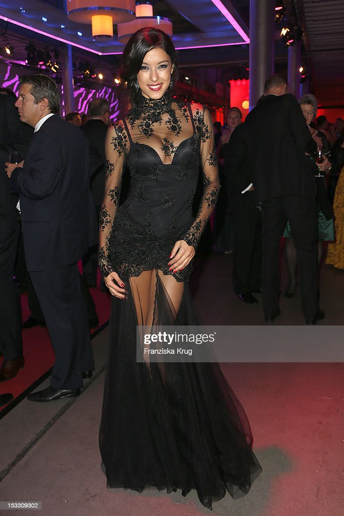 Rebecca Mir attends the German TV Award 2012 (Deutscher Fernsehpreis 2012) at Coloneum on October 2, 2012 in Cologne, Germany.
