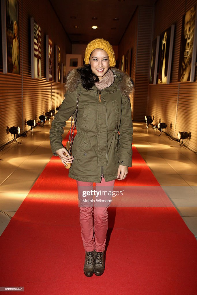 Rebecca Mir attends the 'RTL Spendenmarathon' at RTL Studios on November 23, 2012 in Cologne, Germany.