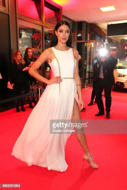 Rebecca Mir during the New Faces Award Film at Haus Ungarn on April 27 2017 in Berlin Germany