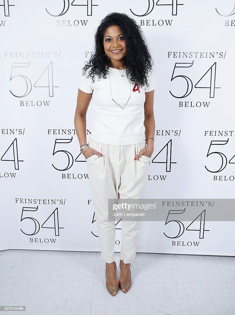 Rebecca Naomi Jones attends Broadway Acts For Women:a star-studded kight of karaoke and comedy at 54 Below on May 1, 2016 in New York City.