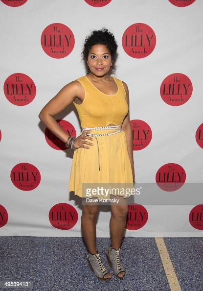 Rebecca Naomi Jones attends the 5th Annual Lilly awards at Playwrights Horizons on June 2 2014 in New York City