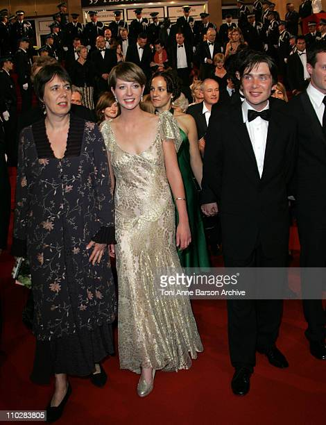 Rebecca O'Brien Orla Fitzgerald and Cillian Murphy