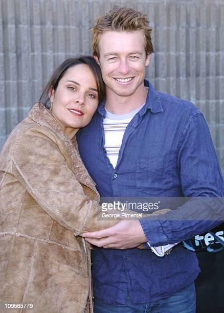Rebecca Rigg and Simon Baker during 2005 Sundance Film Festival 'Ellie Parker' Premiere at Racquet Club in Park City Utah United States
