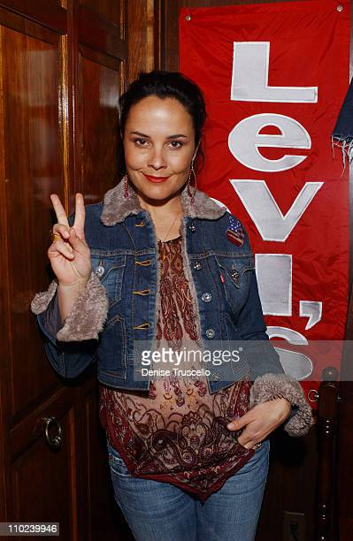 Rebecca Rigg during 2005 Park City 'Ellie Parker' Dinner at Levi's Ranch in Park City Utah United States