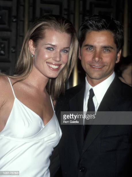 Rebecca Romijn and John Stamos during 3rd Annual GQ Men of The Year Awards at Radio City Music Hall in New York City New York United States
