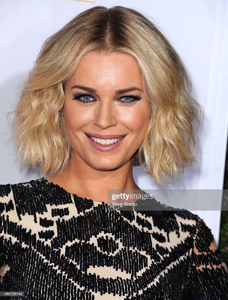 Rebecca Romijn arrives at the NBC And Time Inc. 50th Anniversary Celebration Of Sports Illustrated Swimsuit Issue Hosted By Heidi Klum at Dolby Theatre on January 14, 2014 in Hollywood, California.