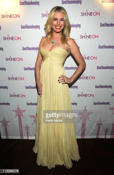 Rebecca Romijn attends Good Housekeeping's annual Shine On Awards honoring remarkable women at Radio City Music Hall on April 12 2011 in New York City
