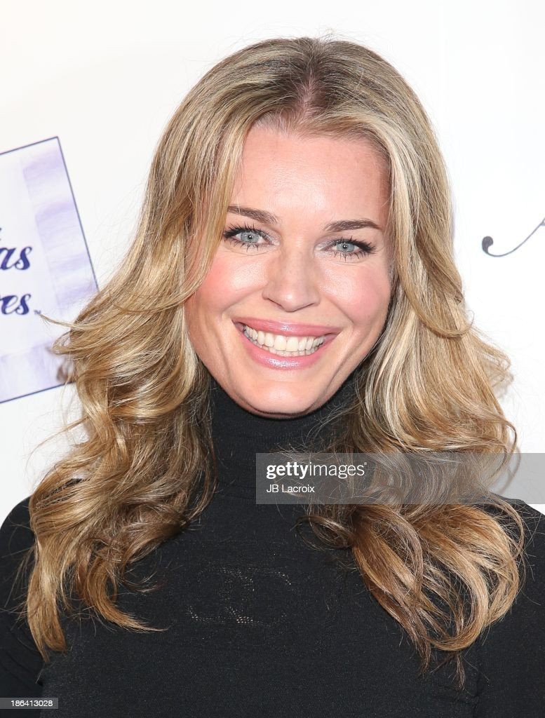 <a gi-track='captionPersonalityLinkClicked' href=/galleries/search?phrase=Rebecca+Romijn&family=editorial&specificpeople=202241 ng-click='$event.stopPropagation()'>Rebecca Romijn</a> attends the 'Ass Backwards' Los Angeles Premiere at the Vista Theatre on October 30, 2013 in Los Angeles, California.