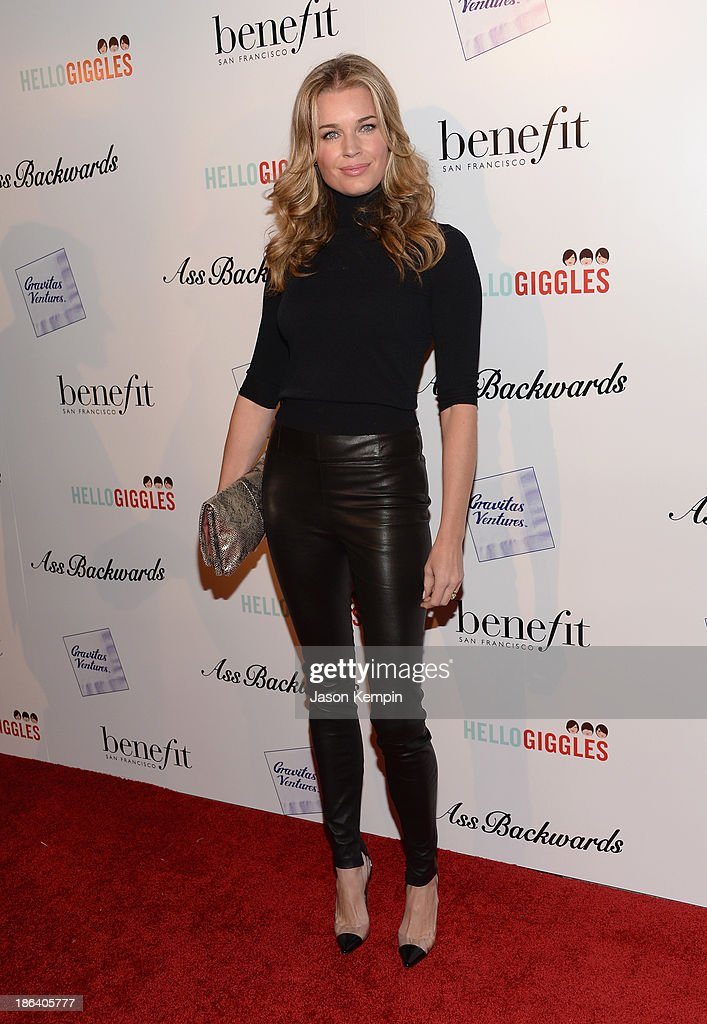 <a gi-track='captionPersonalityLinkClicked' href=/galleries/search?phrase=Rebecca+Romijn&family=editorial&specificpeople=202241 ng-click='$event.stopPropagation()'>Rebecca Romijn</a> attends the premiere of Gravitas Ventures' 'Ass Backwards' at the Vista Theatre on October 30, 2013 in Los Angeles, California.