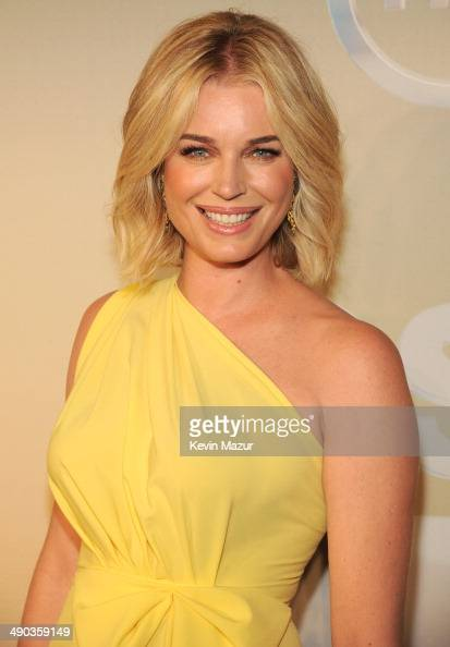 Rebecca Romijn attends the TBS / TNT Upfront 2014 at The Theater at ...