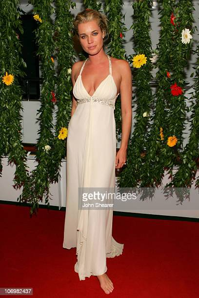 Rebecca Romijn during 2006 Cannes Film Festival Rebecca Romijn Hosts Dinner with Cast and Friends of 'XMen The Last Stand' at Budweiser Select 'Big...