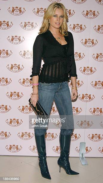 Rebecca Romijn during Juicy Couture Store Opening After Party at Forty Deuce in Las Vegas Nevada United States