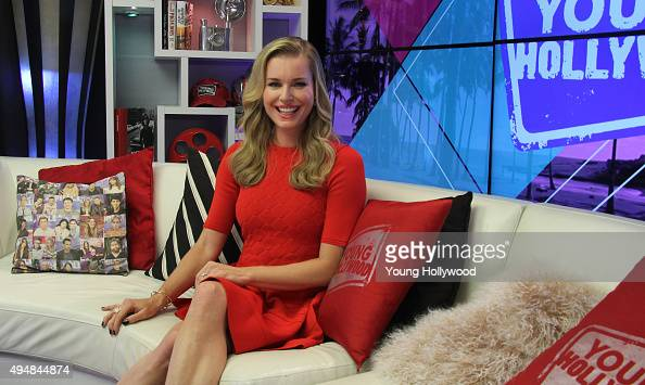 Rebecca Romijn visits the Young Hollywood Studio on October 27 2015 in Los Angeles California