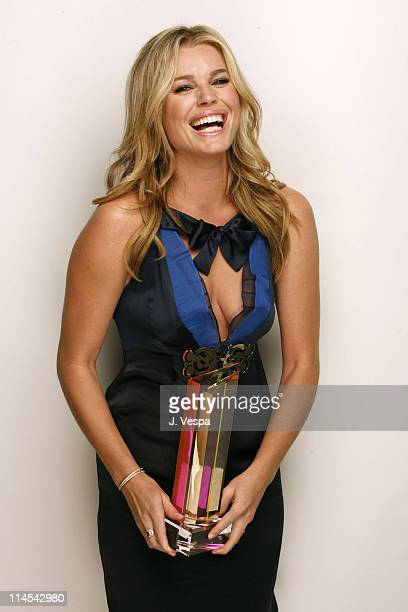Rebecca Romijn winner of Hollywood Glamazon during 2006 Hollywood Life Movieline Style Awards Portraits at Pacific Design Center in West Hollywood...