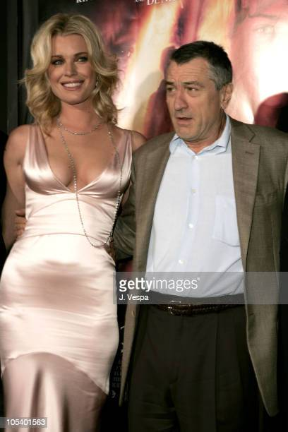 Rebecca RomijnStamos and Robert De Niro during 'Godsend' World Premiere Red Carpet at Grauman's Chinese Theatre in Hollywood California United States