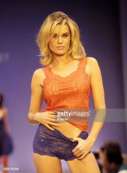 Rebecca RomijnStamos during 3rd Annual Victoria's Secret Fashion Show February 4 1997 at Plaza Hotel in New York City New York United States
